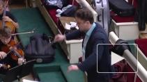 История Петра и Февронии на сцене Эрмитажного театра. ...
