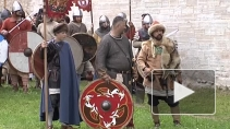 В Старой Ладоге вновь встречали князя Рюрика с дружиной