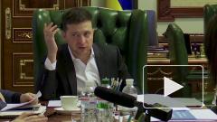 Около сотни человек у офиса Зеленского требуют отставки главы МВД