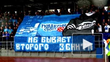 "Перфоманс на матче ""Зенит-2"" - ""Спартак-2"""