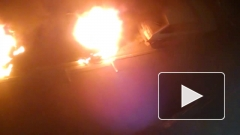 В Омске сгорела машина