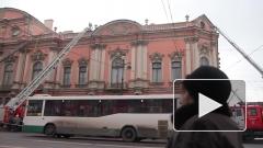 Дворец Белосельских-Белозерских горел из-за неисправной электропроводки
