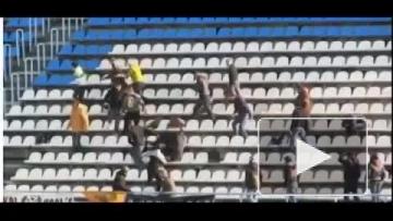 Драка на финале Кубка Брянской области