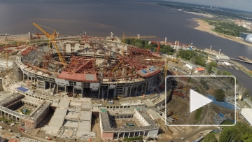 """На новом стадионе """"Зенита"""" сыграют не раньше весны 2017"""