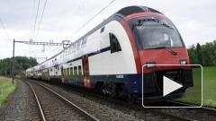 """Первый электропоезд """"Ласточка"""" от Siemens отправился из Германии в Россию"""