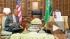 Король Саудовской Аравии и президент США беседовали более двух часов