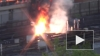 В сети появилось видео пожара на станции метро «Выхино»