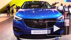 Стала известна стоимость нового кроссовера Opel Grandland X в России