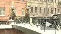 В Петербурге отреставрируют грифонов, Дворец Петра ...