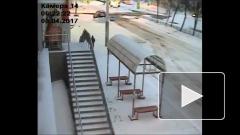 Снежное ДТП в Уфе