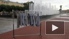 В День ВДВ у фонтанов Петербурга десантникам раздадут сухие тельняшки