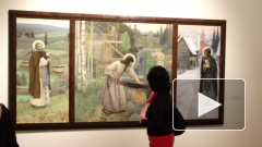 Русский музей отметил уникальной выставкой 150-летие Михаила Нестерова