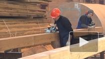 В Петербурге ведется строительство корабля петровских времен