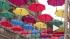 """Над Соляным переулком в Петербурге раскрылась """"Аллея парящих зонтиков"""""""