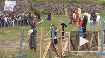 """""""Битва за трон"""". В Выборге показали средневековую сказку"""