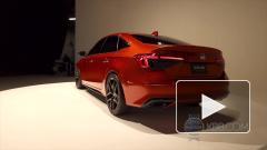 Honda представила седан Civic нового поколения