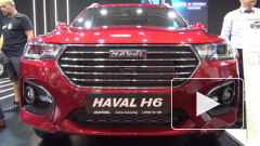 Кроссовер Haval H6 показали до премьеры