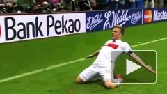 Матч Польша-Россия на Евро-2012 завершился вничью 1:1