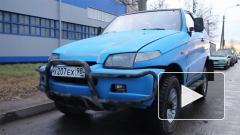 """В Петербурге найден еще один предшественник """"Ё-мобиля"""" - внедорожник Astero"""