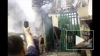 Появилось видео пожара на Центральном рынке в Ростове