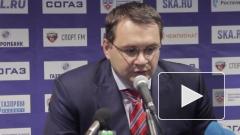 Главного тренера ХК «Барыс» Андрея Назарова отправили в отставку