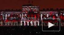Ожившая история города: световые инсталляции на фасадах ...