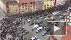 Видео из Германии: разгневанные немцы вышли на митинг против мигрантов