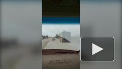 Опубликовано видео инцидента с бронемашинами ВС России и США в Сирии