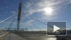 Видео первого проезда по Центральному участку ЗСД