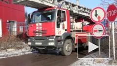 Пожар на Канонерском острове потушили, затопив ремонтный док