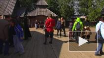 Уроборос в средневековом городе Сваргас