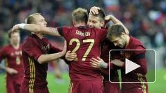 Сборная России разгромила в товарищеском матче  команду Литвы
