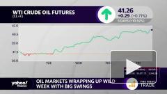 Цена нефти Brent держится на уровне $42 за баррель