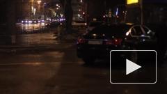 В Петербурге дороженный BMW протаранил автобус
