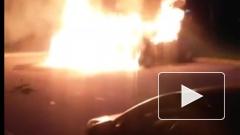 ВИДЕО: В Петербурге за ночь на улице Турку сгорели 4 автомобиля