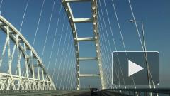 ГИБДД усилило контроль за дорожным движением на Крымском мосту