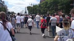 В Хабаровске прошли новые акции протеста в поддержку Фургала