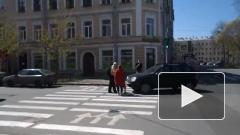 В Петербурге помощник депутата попал в ДТП на велосипеде