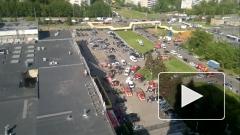 В Москве обрушился торговый центр, есть пострадавшие