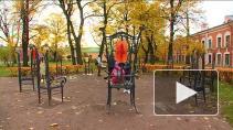 Кованые решетки на здании 12 коллегий, фонари на Малом драматическом театре, 12 стульев в Петропавловской крепости - художник Валерий Галкин создает металлический декор города