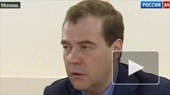 Медведев стал первым партийным премьер-министром России