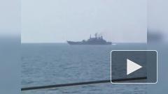 Сторожевой корабль России унизил два фрегата НАТО в Черном море