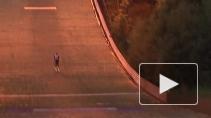 В Токсово впервые прошли ночные соревнования по прыжкам с трамплина среди мастеров