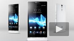 Sony показала свой первый смартфон без приставки Ericsson