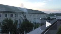Штурм колонии в Хакасии попал на видео