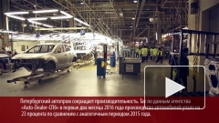 Петербургский автопром сокращает динамику падения