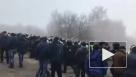 На Украине полиция силой расчищала путь для эвакуированных из Китая
