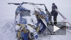 """Опубликовано видео с места катастрофы вертолета в котором был председатель правления банка """"Санкт-Петербург"""""""
