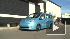 Nissan запустит в серию электрофургон e-NV200
