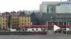 Появилось видео страшного пожара на Выборгской набережной ...